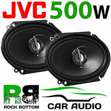 """JVC 500 WATTS 6'' x 8'' 5""""x 7"""" 2 Way Car Van Truck Door Dash Shelf Speakers Pair"""