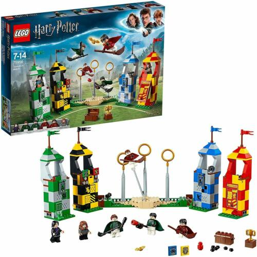 LEGO Harry Potter Quidditch Match 75956 Building Kit New 2019 OFFICIAL SEALED