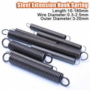 Wire Dia 2.0mm 304 Stainless Steel Expansion Extension Tension Spring OD 14-20mm