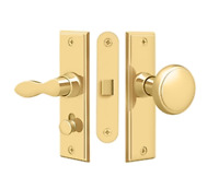Storm Door Replacement Square W Mortise Lock Solid Brass 9 Finishes By Fpl