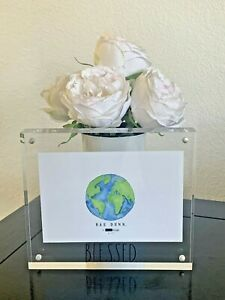 Rae Dunn Acrylic Picture Frame BLESSED 6x4 #1703