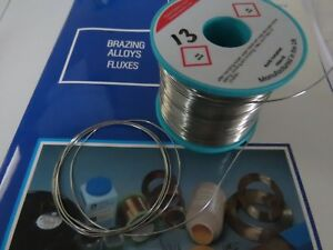 Details about **Soft Solder Wire Lead-Free Type 96S Solid – 0 7mm (22swg)  Dia x 3000mm ref:#13