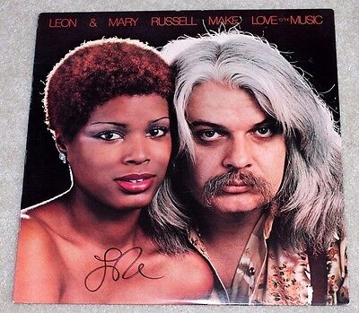 Active Leon Russell Signed Make Love To The Music Album Vinyl Record W/coa Mary Music Entertainment Memorabilia