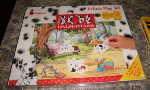 Disney 101 Dalmatians Colorforms Deluxe Play Set Scene Stick-Ons No 2416 NEW