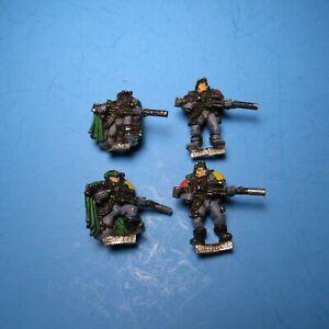 GW Warhammer 40K Space Marine Sniper Scouts x4 Metal i44