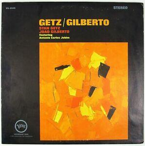 STAN-GETZ-JOAO-GILBERTO-Getz-Gilberto-LP-1964-JAZZ-BOSSA-NOVA-VG-NM