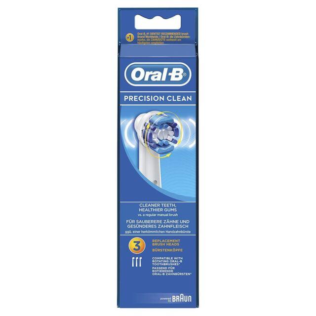 Oral-b Precisionclean Cepillo de Dientes Eléctrico Cabezales Recambio Accionado