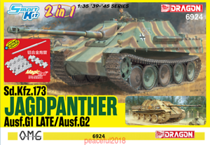DRAGON 6924 1 35 German Jagdpanther Tank Fighter hunting panther G1 Late G2 2019