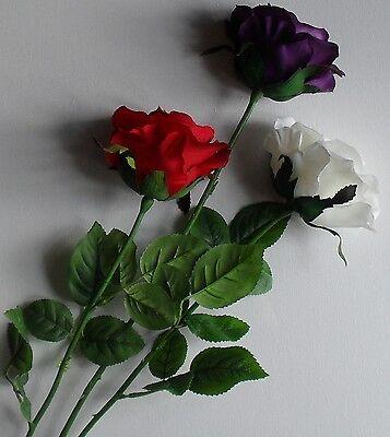Seta Artificiale Fiore Rosa Bouquet Sposa Wedding Tavolo Decorazione- Limpid In Sight