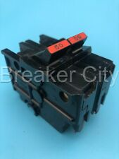 Federal Pacific 50 Amp 2 Pole Na Circuit Breaker 120240vac Stab Lok Thick Fpe