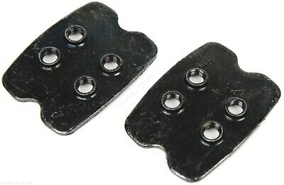Pack of Genuine Shimano 4-Hole SPD Shoe Plate Cleat Nuts fits SH51 SH52 SH56 2