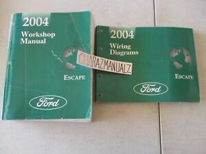 2004 Ford Escape Wiring Diagrams & Service Manual Manuals ...