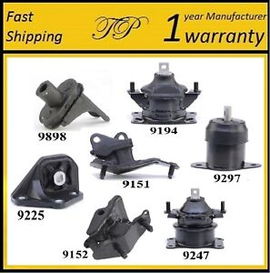 7-PCS-MOTOR-amp-TRANS-MOUNT-FOR-2004-2008-Acura-TSX-2-4L-Automatic