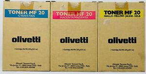 Olivetti-B0432-B0433-B0434-Toner-Original-Yellow-Magenta-Cyan-D-Color-MF20