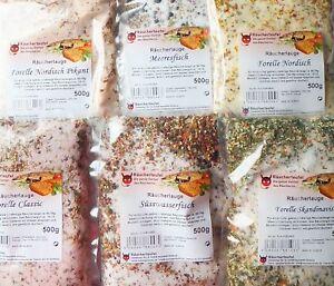 Würzen & Verfeinern Räucherlauge Süßwasserfisch 500g, räucherhaken, Matjes, Fischgewürz, Räuchern Sport