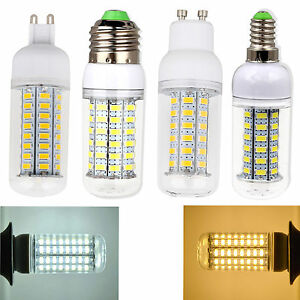 E27-E26-E12-G9-E14-GU10-LED-Corn-Light-Bulb-5730-SMD-5W-7W-9W-12W-15W-Power-Lamp