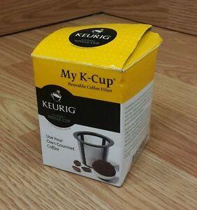 Keurig Gormet Single Cup My K-Cup Reusable Coffee Filter ...