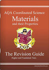 GCSE AQA Coordinated Science: Materials and Their Properties Revision Guide by Richard Parsons (Paperback, 2002)
