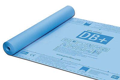 Dampfbremsbahn Rolle 90 M2 Format 0,90 X 100 M GläNzend Ehrlich Pro Clima Db
