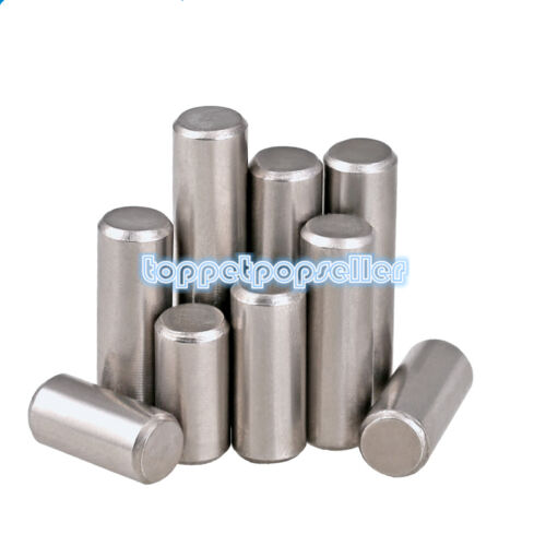 10-50Pcs M3 M4 304SS A2 Cylindrical Pin Dowel Positioning Pin GB119
