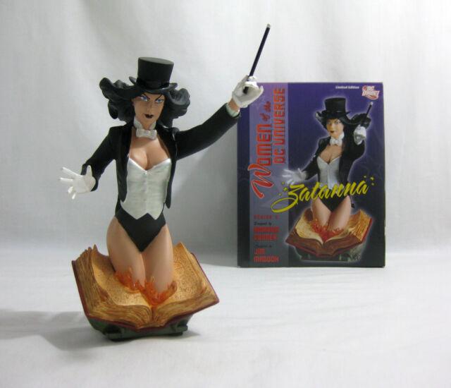 2011 DC Direct ✧ ZATANNA ✧ Women of the DC Universe Bust