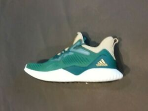 new style 5656a 83dc3 Image is loading Adidas-Alphabounce-Beyond-NCAA-Green-amp-Sand-Running-