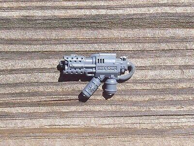 Space Marine Grey Knight Terminator Incinerator bits