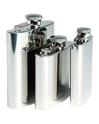 Creative Mil-tectaschenflasche Chrom Edelstahl 4/5/8oz Bar Tools & Accessories Trinkflasche Flachmann Buy Now