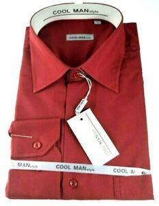 Camicia-classica-uomo-Cool-Man-manica-lunga-collo-classico-art-283