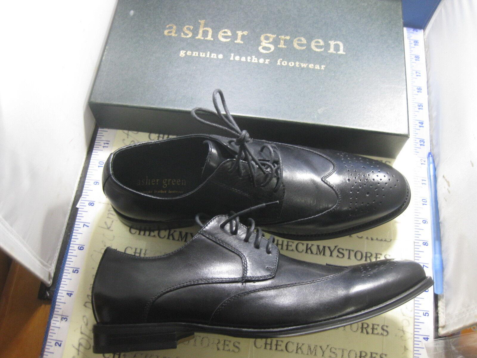 NEW NIB Asher Green 0503892 oxford LEATHER Scarpe SZ 10.5 USA