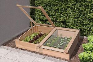 Fruhbeet Aus Holz Larche Pflanzkasten Gewachshaus Hochbeet Garten