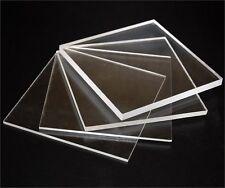 1 x FOGLIO di chiara in policarbonato a tinta unita, perspex spessore 4mm, 450mm x 300mm