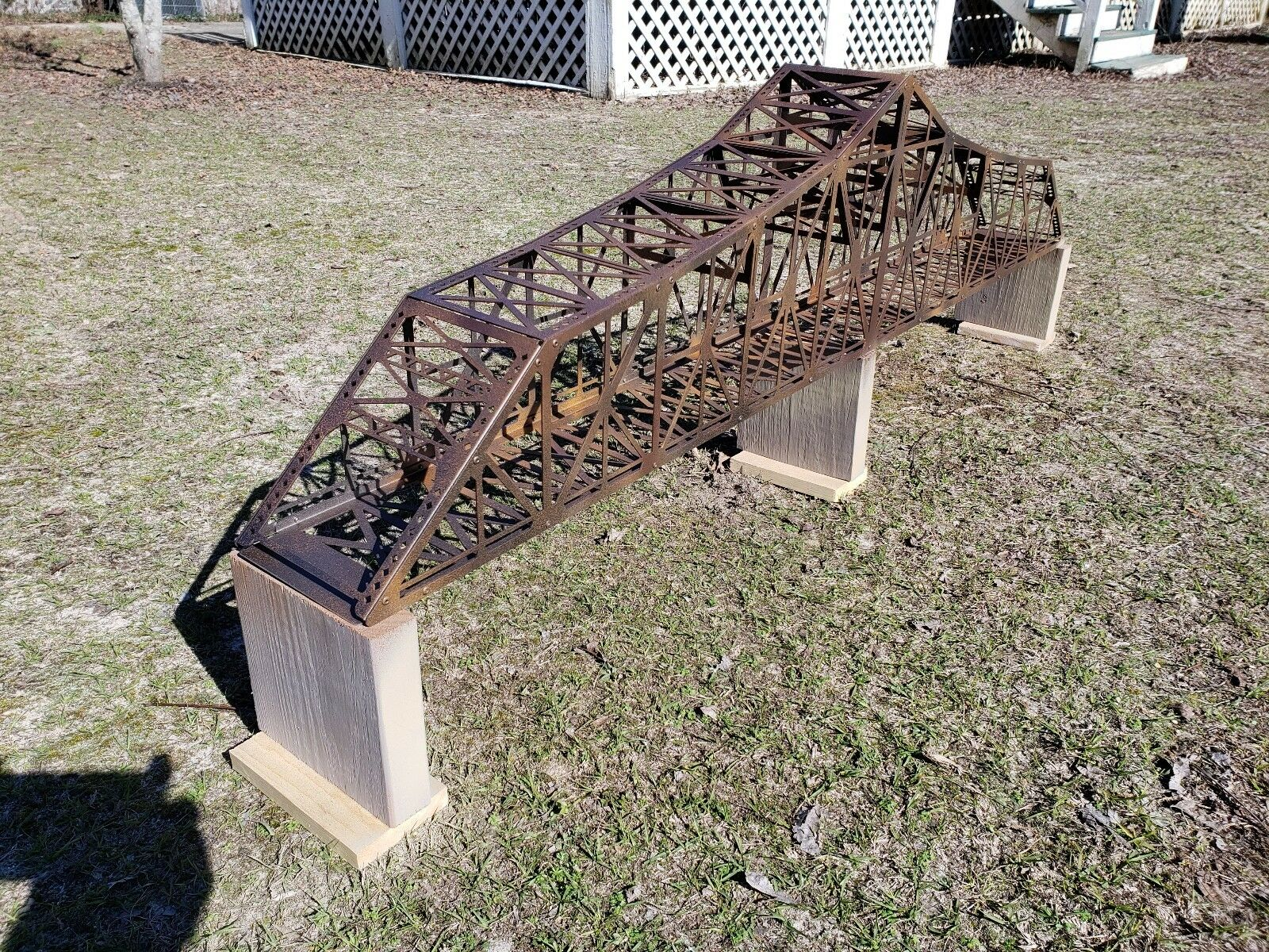M1910' Bridge HO gauge, assembled, decorated with piers MAO @  402.00 or BIN