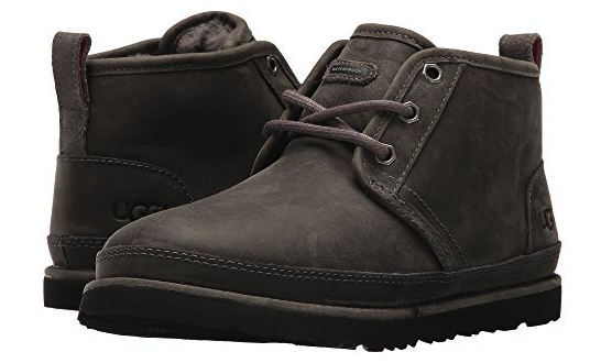 UGG Australia Neumel Classic Waterproof Charcoal Grey Men 9
