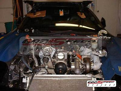 CAMARO CORETTE TRANS AM LS1 LS2 LS6 T4 TWIN TURBO KIT