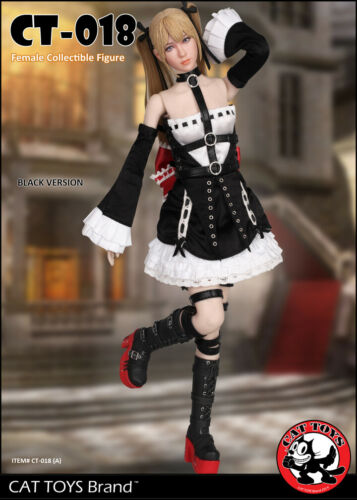 Cat Toys  CT018 1//6 Black Lolita Maid Female Character Figure  In stock USA