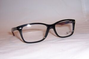 adc774d44 NEW Ray Ban EYEGLASSES RB RX 5228 RB5228 RX5228 5544 BLACK 55mm ...