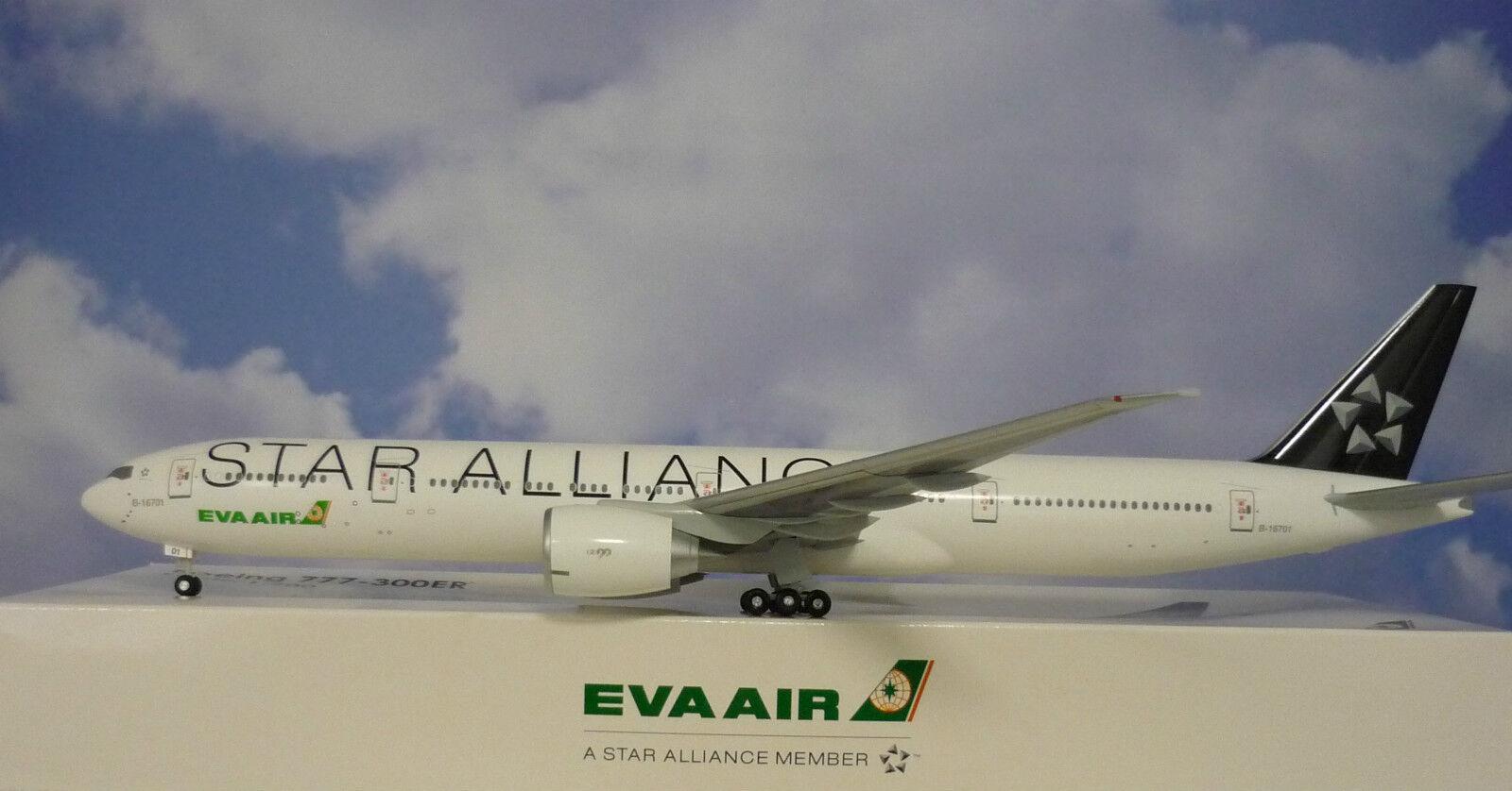 Hogan Wings 1 200 Airbus A330-300 Eva Air Star Alliance + Herpa Wings Catalogue