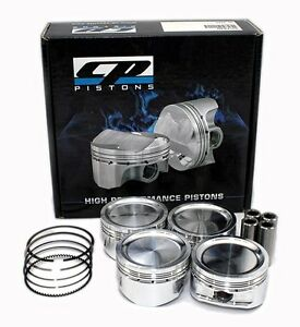 CP-Carrillo-SC7521-Ford-Duratec-2-0L-2-3L-Non-VVT-Forged-Pistons-88mm-Set-Of-4