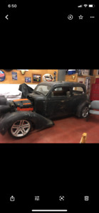 1936 Plymouth rat rod project
