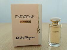Emozione by Salvatore Ferragamo for Women EDT 5ml Miniature Mini Perfume New