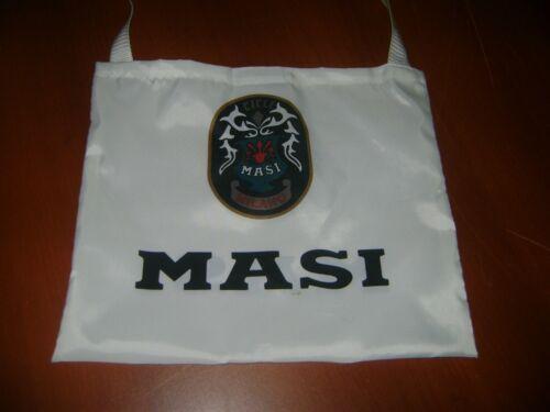 ITALIA BIKE MUSETTE WHITE MASI BIKE BAG MESSENGER FIXED PISTA CLASSIC MASH