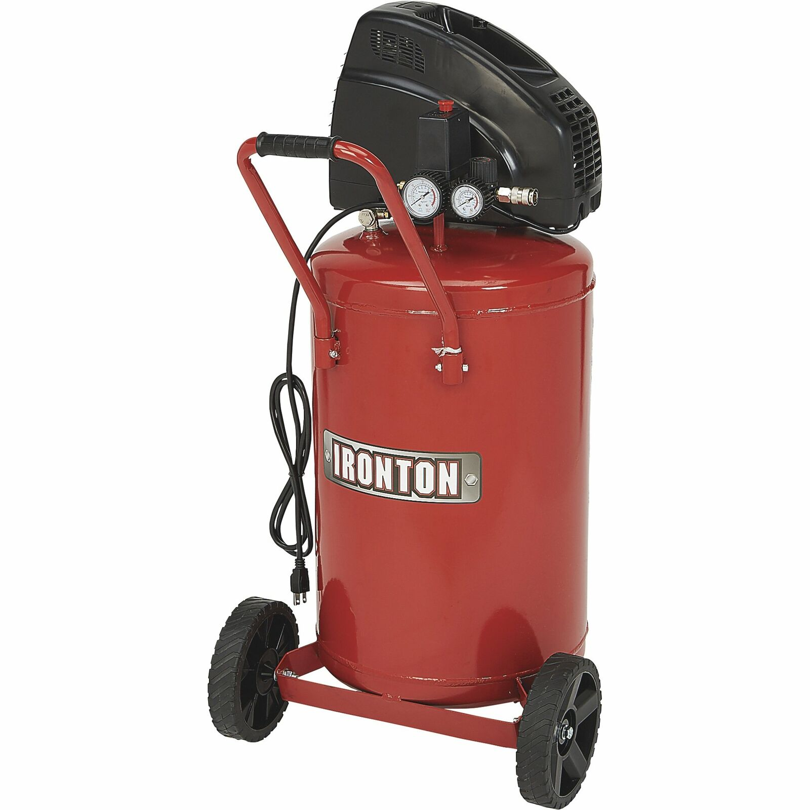 Ironton Portable Electric Air Compressor - 1.5 HP, 20 Gallon Vertical Tank. Buy it now for 184.99
