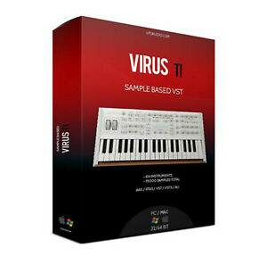 Details about Access VIRUS TI 2 Library VST AU Pl ug-In OSX PC REFILL  REAPER CUBASE MAINSTAGE