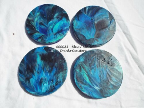 Various Colours /& Designs Round Drink Coasters // Beer Mat Concrete
