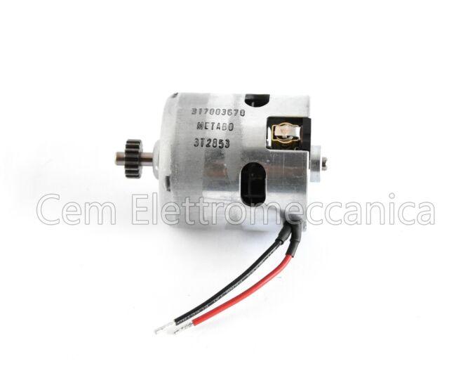 Motor Inducida por Dc 18 en V Metabo - Repuesto Conductor de Perforación BS 18