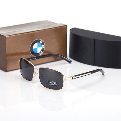 Brand Box NEW BMW Brand Men/'s Sunglasses Polarized Classic UV400 Men Glasses