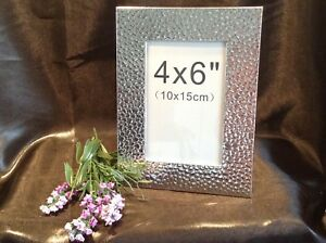 Silver-Texture-Finish-4x6-Photo-Frame