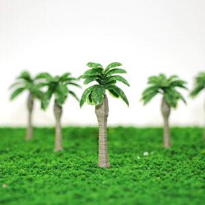 YS10 20PCS 2.5 inch Model Palm Trees Banana Model Layout Train Scale 1/100 TT HO