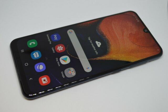 Samsung Galaxy A50  64GB SM-A505U1 Black UNLOCKED GSM AT&T VERIZON TMOBILE #L451